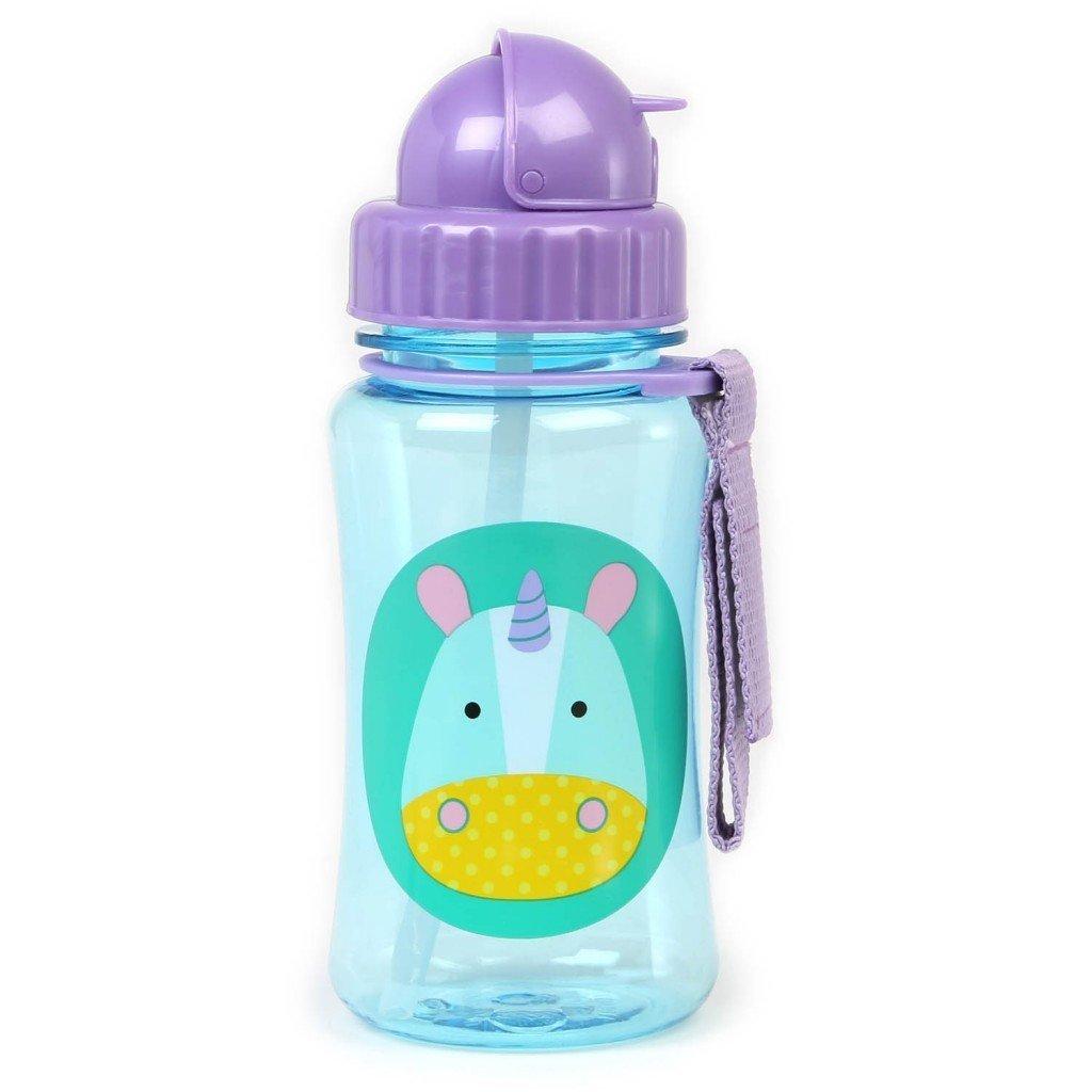 Skip Hop: Zoo Straw Bottle - Unicorn image