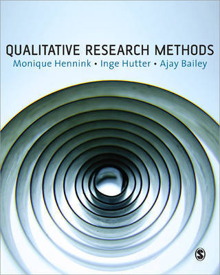 Qualitative Research Methods by Monique Hennink image