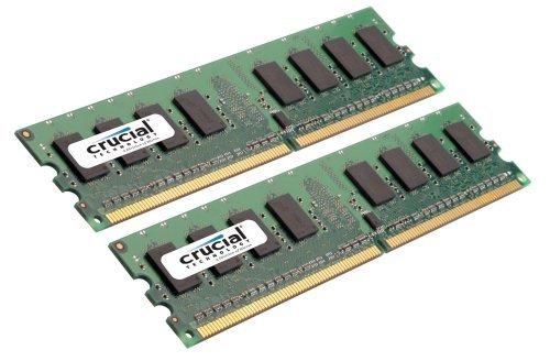 Crucial 4GB kit (2GBx2) 240-pin DIMM DDR3  PC3-8500 NON-ECC image