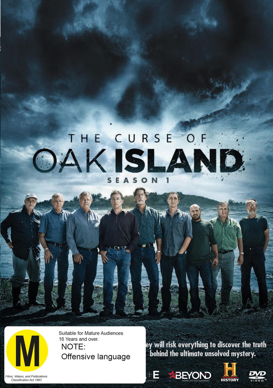 The Curse of Oak Island - Season 1 on DVD image