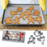 Fred - Ninjabread Men Cookie Cutters