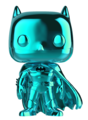 DC Comics: Batman (Teal Chrome) - Pop! Vinyl Figure