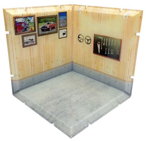 Dioramansion: Garage B - Figure Display Base