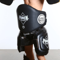 Punch: Black Diamond Belly Body Pad (Black)