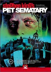 Pet Sematary on DVD