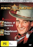 Riders of Destiny / Sagebrush Trail - Double Feature DVD