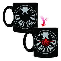 Marvel Avengers S.H.I.E.L.D. Hydra Heat-Change Mug