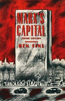 Marx's Capital by Ben Fine image