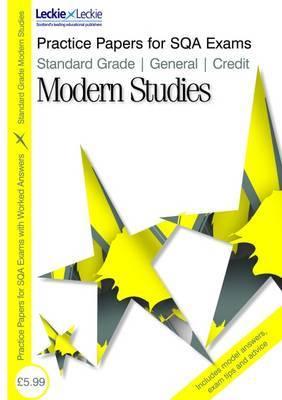 General/ Credit Modern Studies by Jayne Ashley image