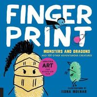 Fingerprint Monsters and Dragons by Ilona Molnar