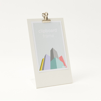 Block Design: Clipboard Frame (Medium White)