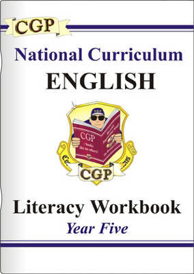KS2 English Literacy Workbook - Year 5 by CGP Books image