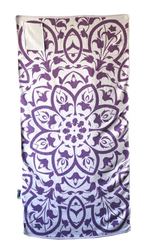 Towelling It XL Beach Towel - Floral (With Pocket)