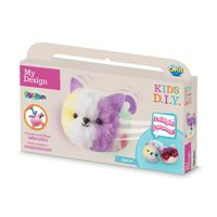 My Design: Motion Fluffables Craft Kit - Marshmallow