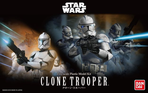 Star Wars 1/12 Clone Trooper - Scale Model Kit