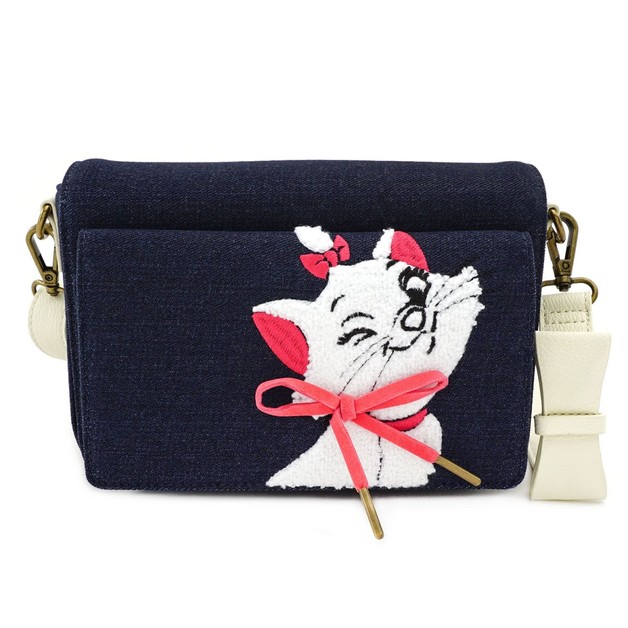 Loungefly: Aristocats - Marie Denim Crossbody