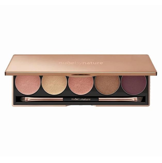 Nude by Nature Natural Illusion Eye Pallet - 02 Soft Rose