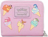 Loungefly: Pokemon - Ice Cream Denim Zip Purse