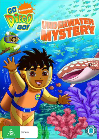 Go Diego Go: Underwater Mystery on DVD