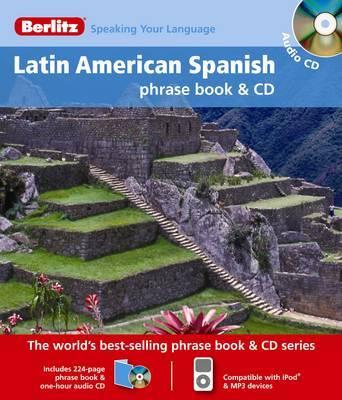 Latin American Spanish Berlitz Phrase Book and CD