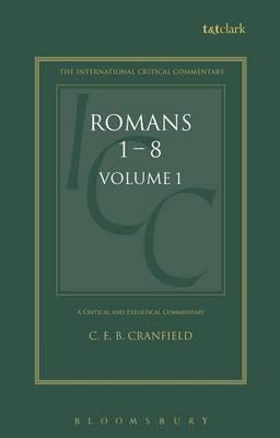 Romans: v. 1 by C.E.B. Cranfield