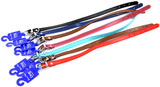 Genuine Leather Dog Collar 40cm - Assorted Colours