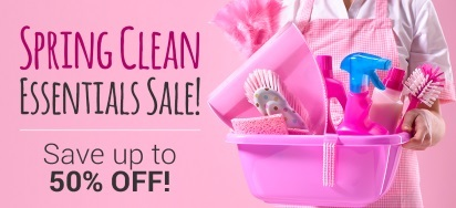 Spring Cleaning Essentials Sale