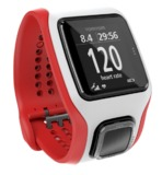 TomTom Runner Cardio Watch - White/Red + Additional Black Strap