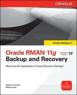 Oracle RMAN 11g Backup and Recovery by Robert G Freeman image