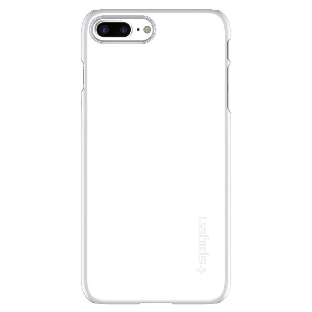 Spigen: iPhone 7 Plus - Thin Fit Case (Jet White) image