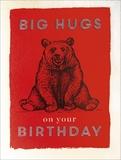 Archivist: Big Hugs on your Birthday Card