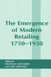 The Emergence of Modern Retailing 1750-1950 image