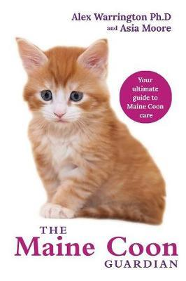 Maine Coon Cat by Asia Moore