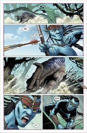 Avatar: Tsu Teys Path - #3 (Cover A) by Sherri Smith image