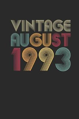 Vintage August 1993 by Vintage Publishing