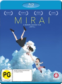 Mirai on Blu-ray image