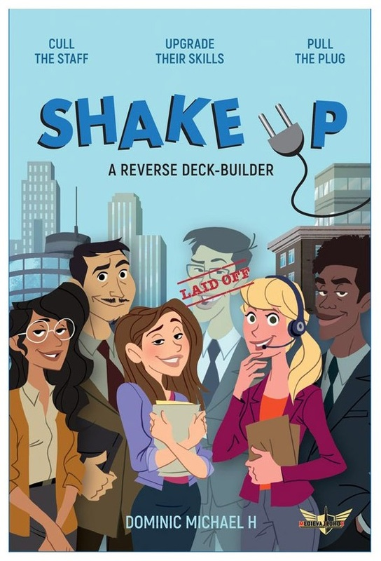 Shake Up - Reverse Deck-building Game