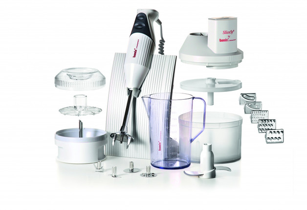 Bamix: SwissLine Superbox Stick Blender (200W) - Light Grey