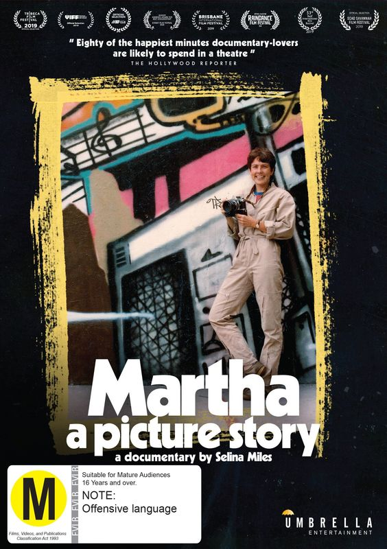 Martha: A Picture Story on DVD