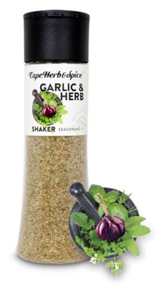 Cape Herb: Garlic & Herb Shaker 275g