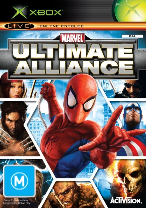 Marvel: Ultimate Alliance for Xbox