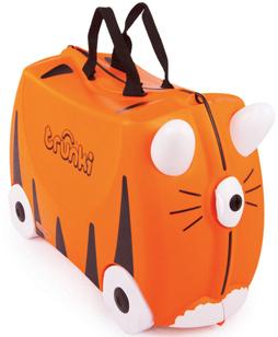 Trunki Ride On Case - Tipu Tiger image