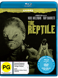 Hammer Horror: The Reptile on DVD, Blu-ray