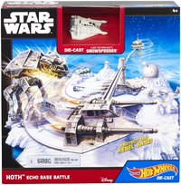 Star Wars: Hot Wheels Starships - Hoth Echo Base Battle Play Set