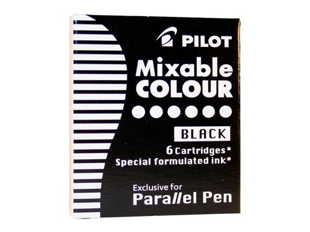 Pilot Parallel Calligraphy Pen Ink Refill - Black (6 Pack)