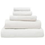 Bambury Costa Cotton Bath Sheet (Snow)