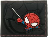 Marvel: Kawaii Spiderman - Black Bi-fold Wallet