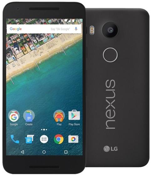 LG Nexus 5X Smartphone 32GB Black image