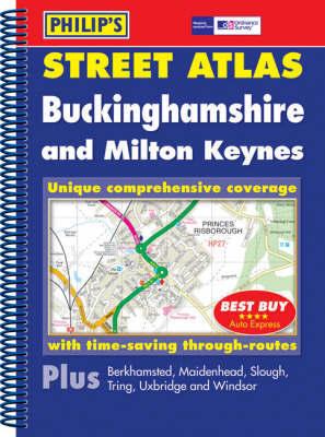 Philip's Street Atlas Buckinghamshire image