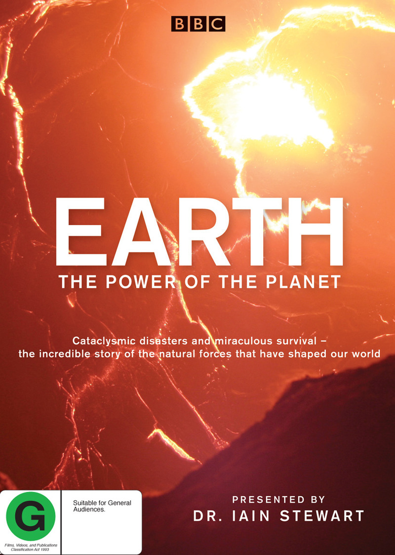 Earth: The Power of the Planet on DVD image